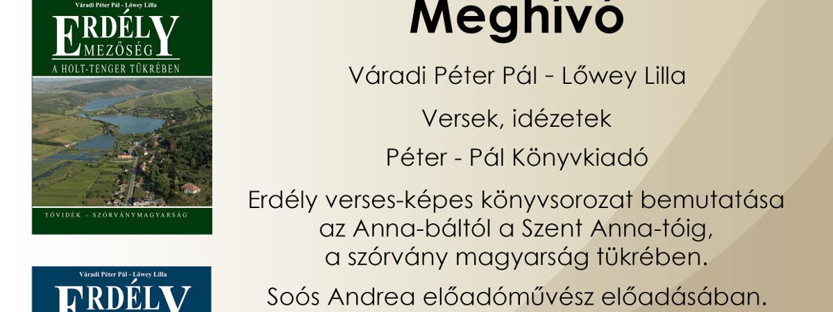 Váradi Péter Pál, Lőwey Lilla: Versek, idézetek