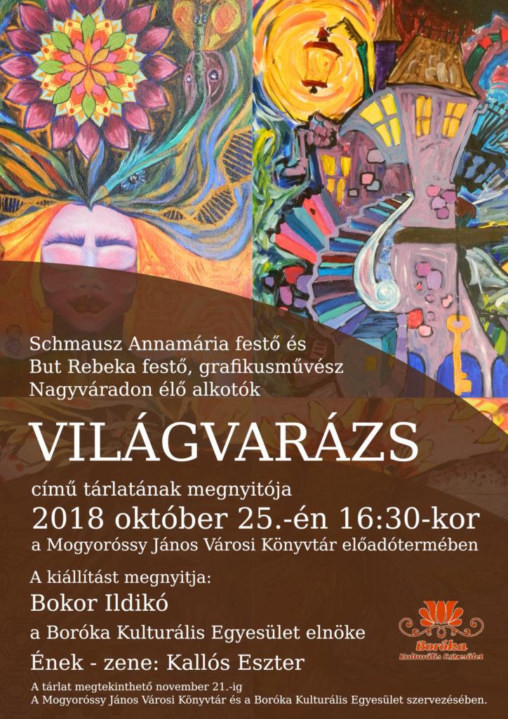 Világvarázs című kiállítás – Meghívó